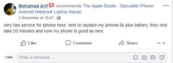 kedai repair iphone murah bangi